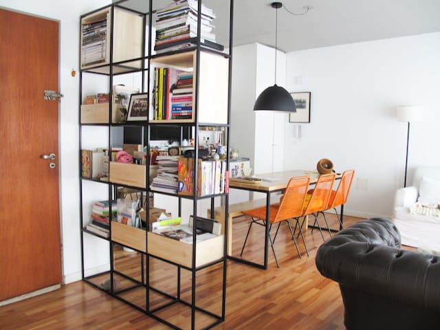Luminoso y lindo departamento de diseño en Nuñez