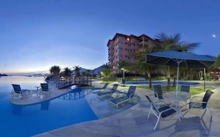 Apart Angra resort vista para o mar Porto Bali