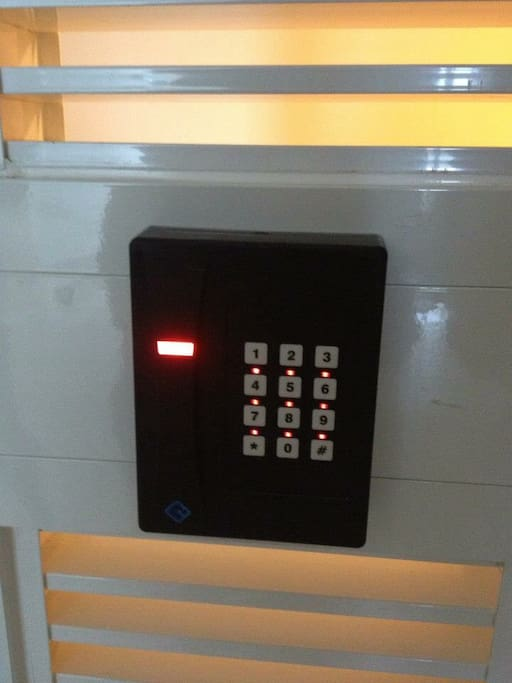 Key Card Security Scan-Entrane