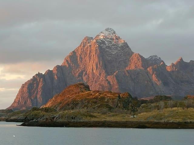 Amazing view in Lofoten