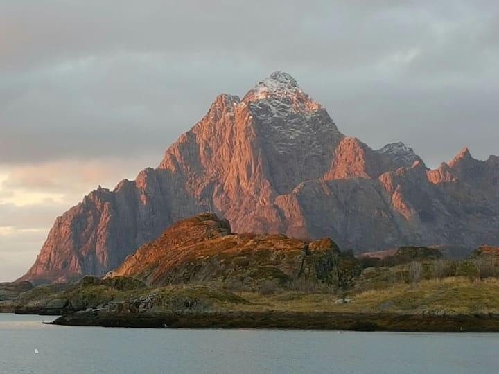 Amazing view in Lofoten