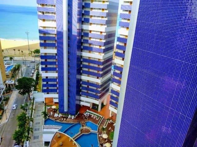 Apartamento Beach Class Fortaleza a 50m Beira Mar