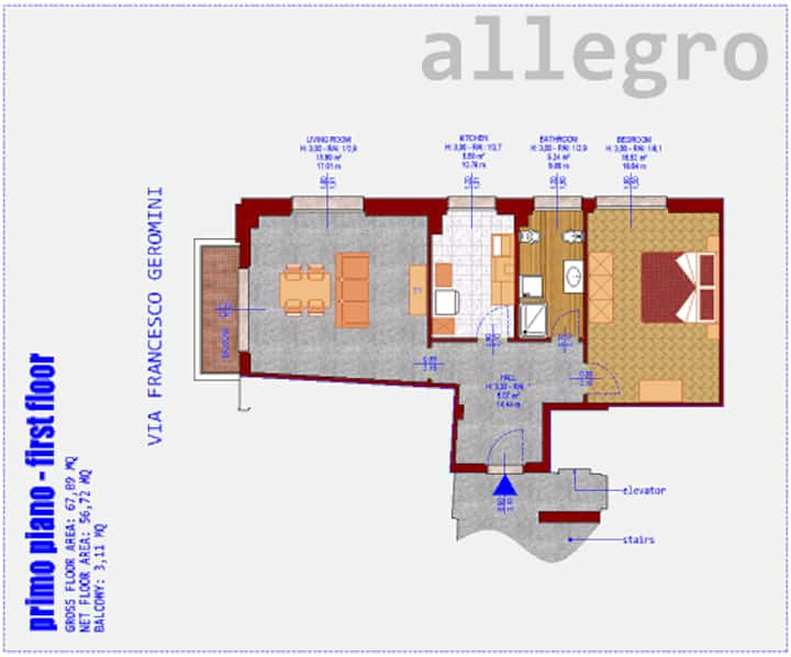 Appartamento ALLEGRO