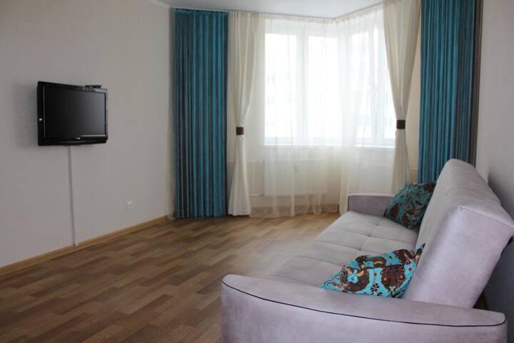Уютная светлая квартира рядом с METRO