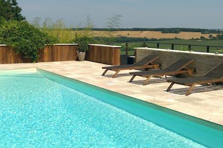 Maison et piscine coin de paradis!! - Leboulin - Ev
