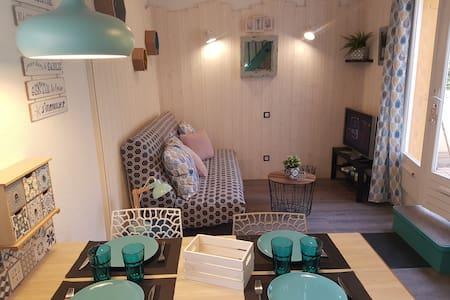 Studio mezzanine climatisé  CAP D'AGDE Autonomie