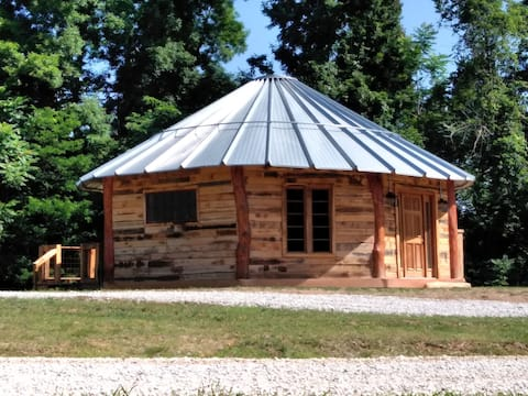 "The ""Mountaineer"" Rustic Yurt"