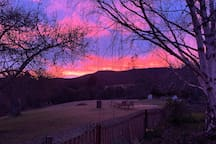 Another beautiful sunrise at The Retreat