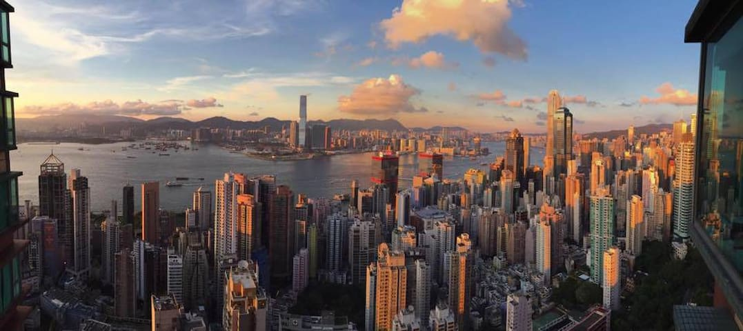 Top of Hong Kong! Exceptional and central flat - Hongkong - Wohnung