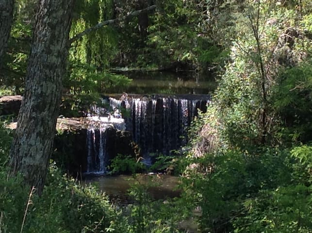 Cabaña ecológica del bosque - Villa Yacanto de Calamuchita - Casa de campo