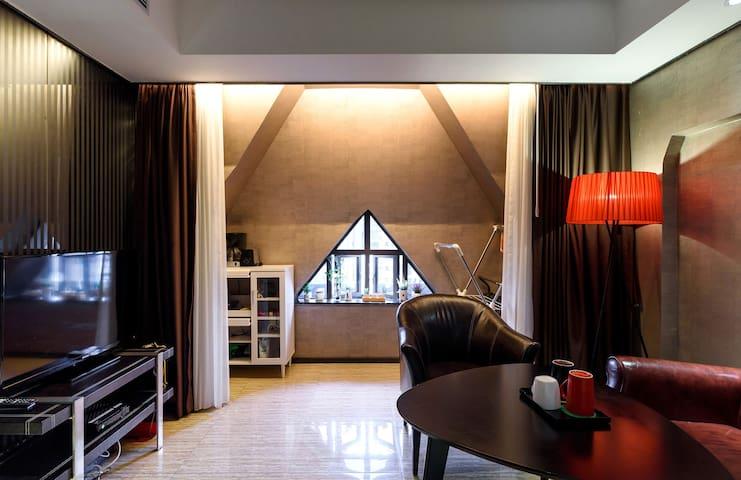 """S&L""BeijingRoad,good view flat,double Line subway - 广州市 - Квартира"