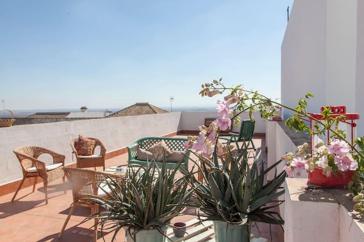 Vivre la campagne de Sevillana - Terrasse et 3 Cha