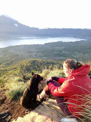 Mount Batur Camping &  natural hot spring