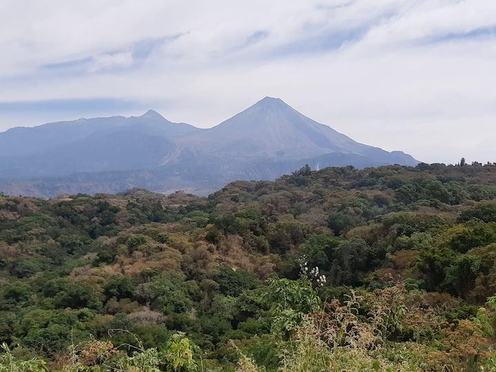 volcan de fuego and nevado