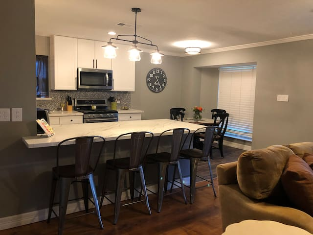 Centrally located Updated 3-2 with New furnishings