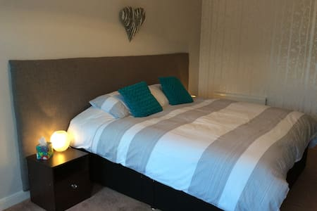 Twin bedded or Super King bedroom - Stamford Bridge, YORK - Bed & Breakfast