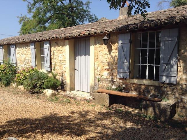 Logement de charme dans mas XIXe s - Saint-Michel-d'Euzet - Ház