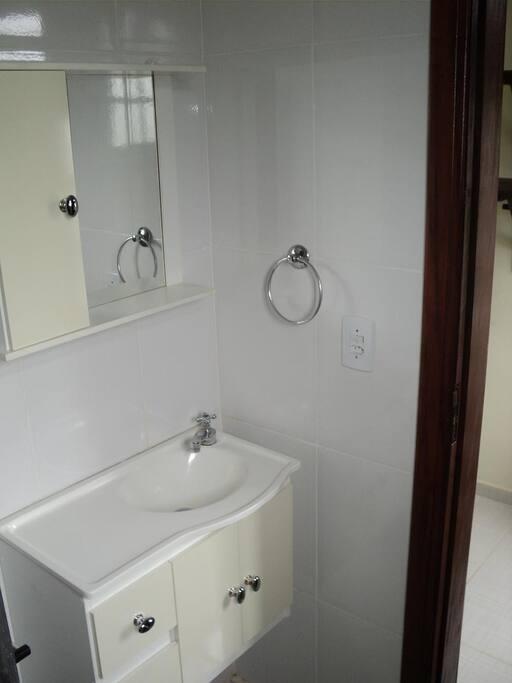 Lavatório/banheiro superior