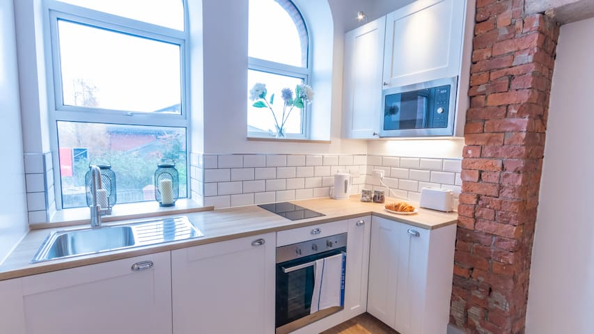 Stylish, Immaculate New Apartment near Salford Quays By Pillo Rooms