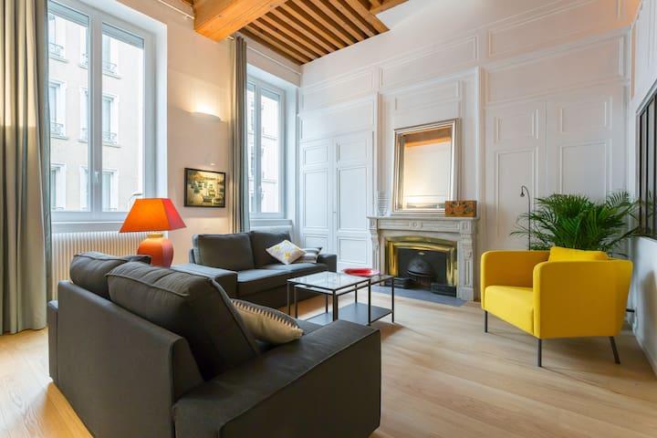 Duplex 65 m² près du Parc de la Tête d'Or. Garage - Lyon