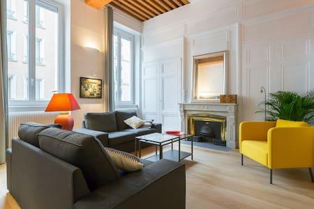 Duplex 65 m² près du Parc de la Tête d'Or. Garage - Lyon - Apartmen
