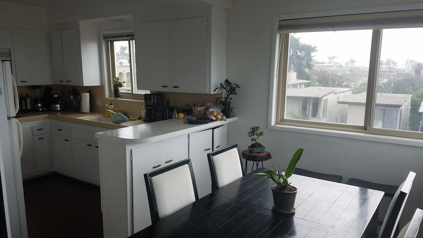 Gorgeous Ocean view Apt-One room sleeps 3 adults. - Manhattan Beach - Lägenhet