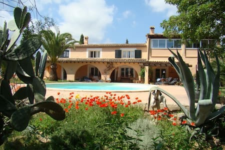 Sunny & quiet apartment in Finca near sea and town - Bunyola - Pis
