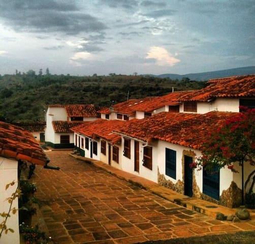 Casa en el pueblito más lindo de Colombia