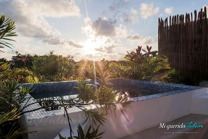Luxury Condo Near Town with Private Rooftop & Pool