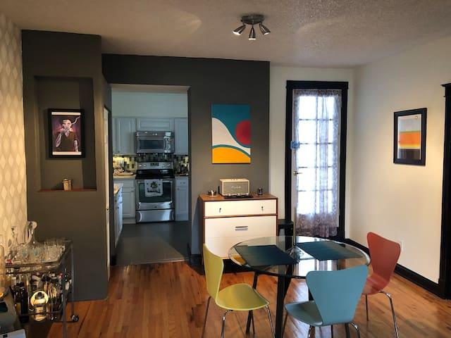Midcentury designed condo in Capitol Hill
