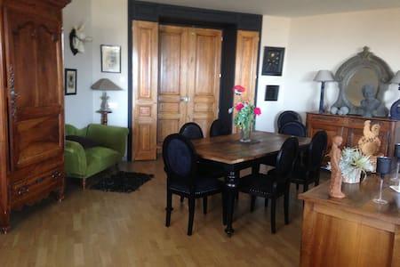 loft 6 personnes 150 m2 centre de font romeu - Font-Romeu-Odeillo-Via - Apartemen