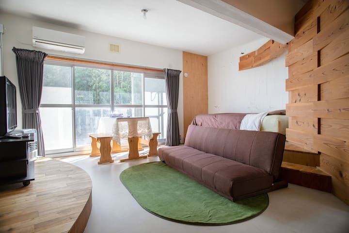 Private apartment in bamboo forest with nice view