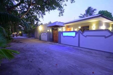 Beach Residence Ukulhas  , home step to the beach
