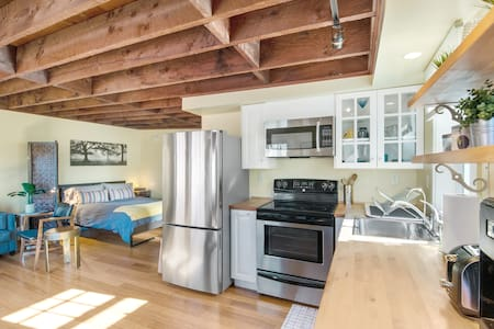 Tiny House in Alameda/Alberta Arts ~ Dog Friendly