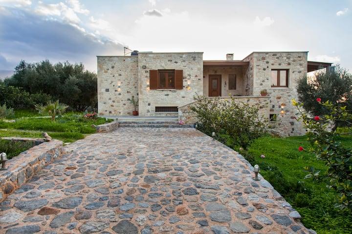 Milatos seaview villa