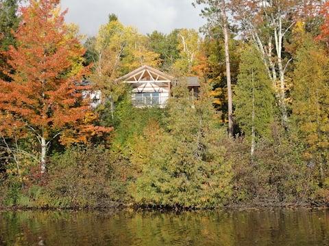 Hike, Bike or Swim at this Lake Cabin