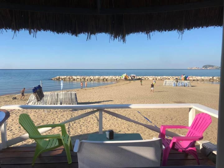★ PANORAMIC AirCo WI-FI TERRACE BEACH  2bdr 2btr