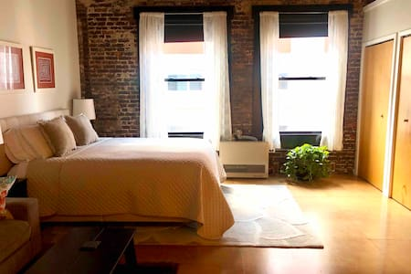 Modern Studio Loft w/ Parking in Perfect Location