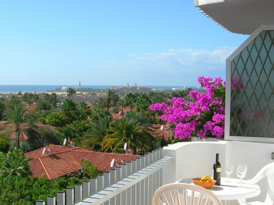 Beautiful view from Apartment Balcony