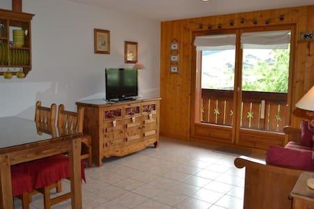 Joli 2 pièces dans la résidence Le Mont Charvin - Praz-sur-Arly - 아파트