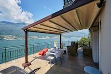 Casa Romantica -Terrace 40sqm, wonderful lake view