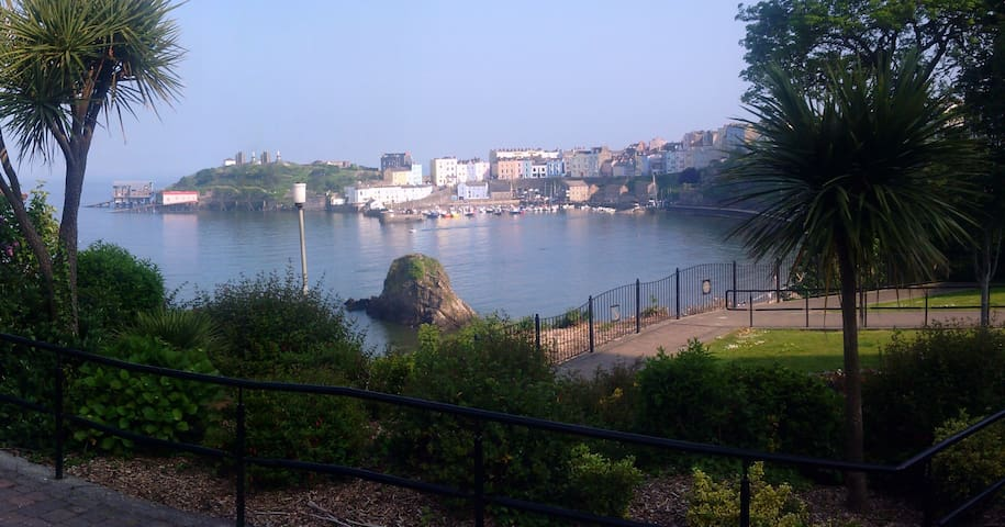 Luxury gd floor holiday apartment - Tenby - Daire