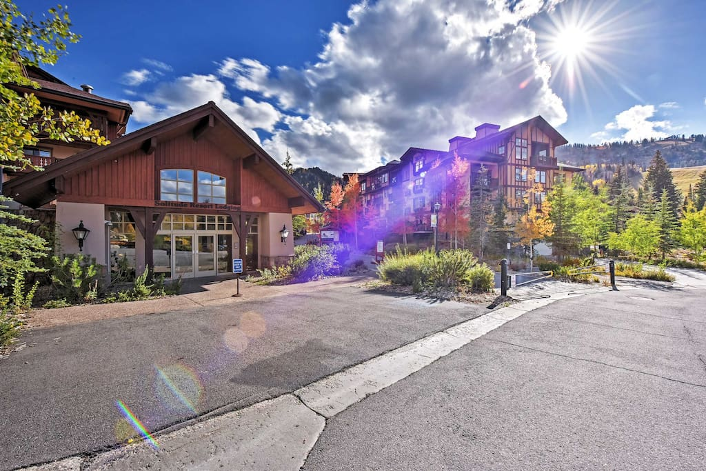Nestled at the foot of Solitude Mountain, you'll have access to area attractions