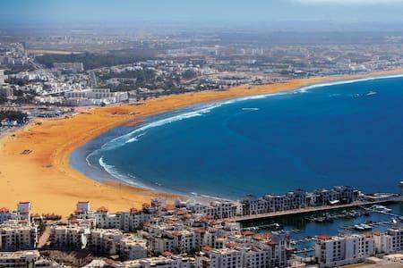 Appart pour Familles à 15 mn de plage - Agadir