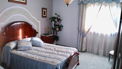 Estupenda habitación para tres