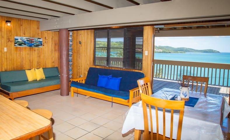 Punta Aloe 20-Ocean Front Villa Apartment - Culebra