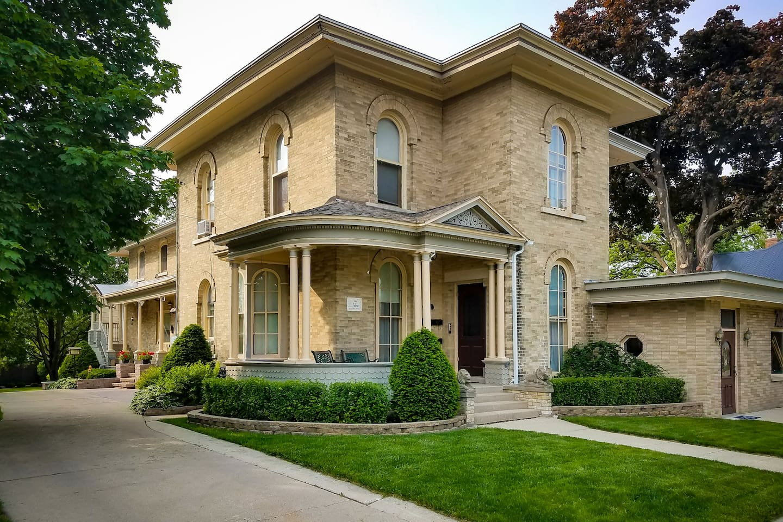 Historic HA Whitney Home, Columbus, Wisconsin, builtin 1868.