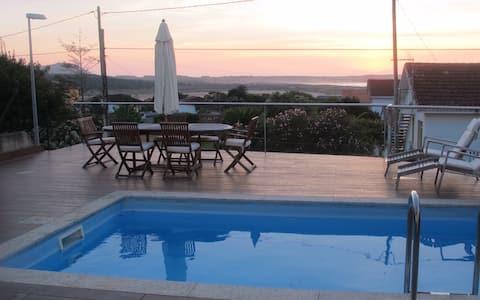 Luxury House Sea Views & Prívate Pool