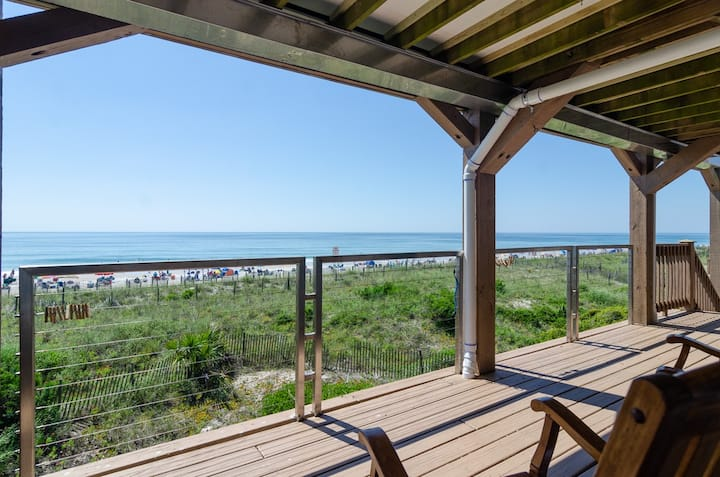 Parker #4-Best dollar value on Wrightsville Beach, upper unit oceanfront