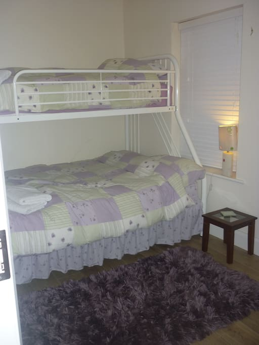 Your Bedroom.. Single over Double Bunks